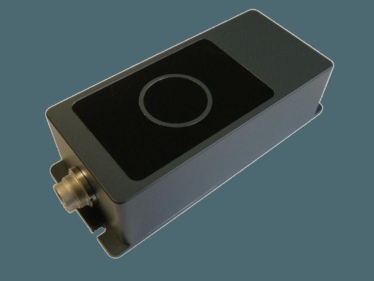 Système de comptage passagers haute précision SIRA3D vue 3 quart