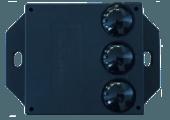 Vue capteur de comptage passagers SIRA03 par EXATELYS pour bus vu de dessus format mini