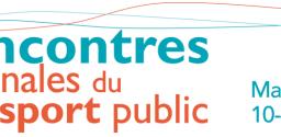Logo 26eme Rencontres Nationales du Transport Public de Marseille