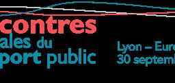 Logo Rencontres Nationales du Transport Public de Lyon (25ieme édition)